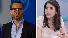 Los desayunos de TVE - Irene Montero, portavoz Unidas-Podemos en el Congreso, y Javier Maroto, Vicesecr. Organización del PP