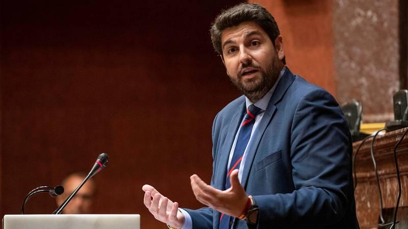 Vox mantiene su 'no' en Murcia a López Miras porque Cs se niega a firmar un pacto a tres
