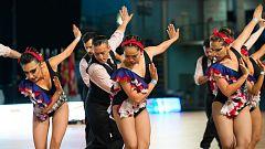 Baile deportivo. Campeonato de España Latinos 2019.