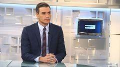 Sánchez rechaza un cogobierno con Podemos, pero se abre a valorar sus propuestas de ministros independientes