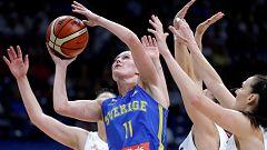 Baloncesto - Campeonato de Europa Femenino - 1/4 Final: Serbia - Suecia
