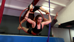 Así se cuidan las acróbatas de circo