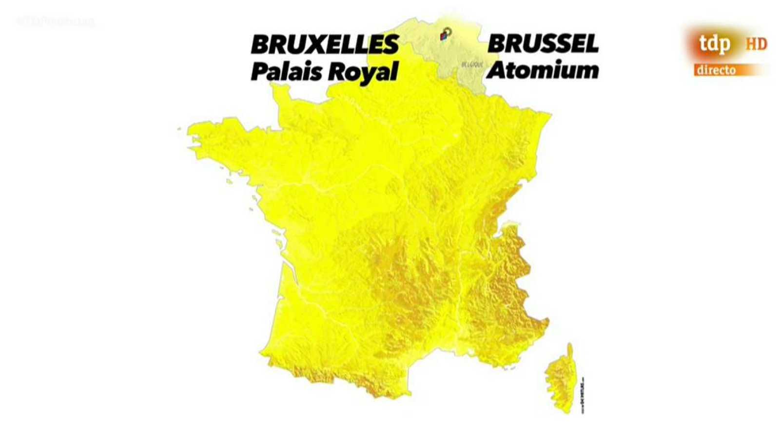 El Tour sigue en Bruselas para la disputa de la segunda etapa, una contrarreloj por equipos de 27,5 kilómetros con salida junto al Palacio Real y meta en el Atomiun, símbolo de la ciudad, a escasos metros del Estadio de Heysel. Una jornada propicia p