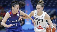 Baloncesto - Campeonato de Europa femenino, 1ª Semifinal: Francia - Gran Bretaña