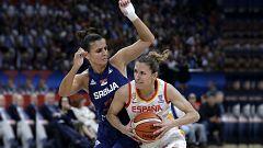 Baloncesto - Campeonato de Europa femenino, 2ª Semifinal: España - Serbia