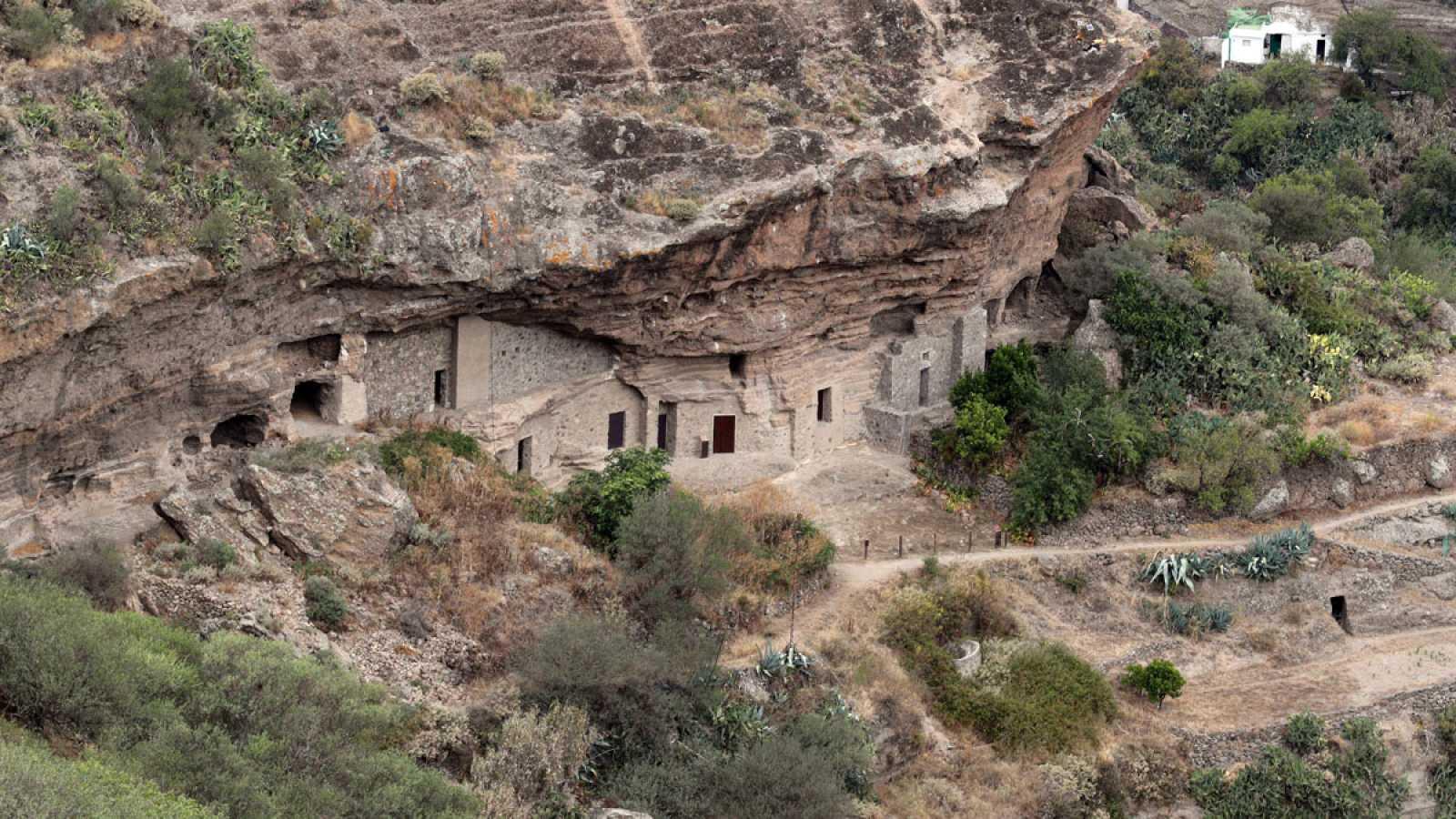 El yacimiento de Risco Caído en Gran Canaria, declarado Patrimonio Mundial