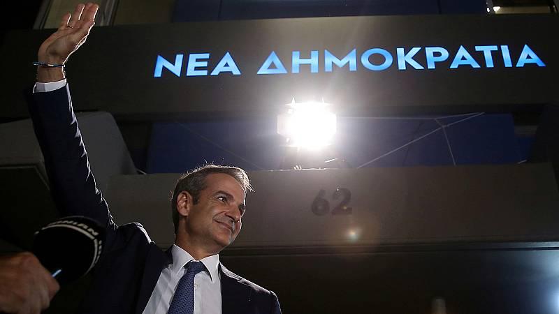 Mitsotakis será el próximo primer ministro de Grecia