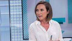 """Cuca Gamarra (PP) pide """"responsabilidad"""" y """"madurez"""" a Vox para apoyar el acuerdo PP-Cs en la Comunidad de Madrid"""