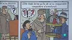 Tintín ya habla castúo, el habla popular de Extremadura