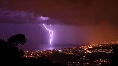 Lluvias fuertes en Aragón, Cataluña, Cantábrico y nordeste peninsular