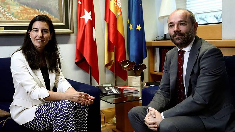 Monasterio confirma su no a la investidura de Díaz Ayuso en la Comunidad de Madrid