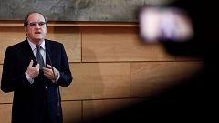 Gabilondo reafirma su determinación de presentarse como candidato a presidir la Comunidad de Madrid