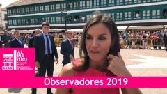 Almagro 2019 - La reina Letizia hace entrega de los premios del Real Patronato