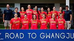 """La selección femenina de waterpolo va """"a por el oro"""" al Mundial de Gwangju"""