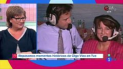 Repasamos momentos históricos de TVE con Olga Viza