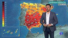 El Tiempo en Extremadura - 10/07/19