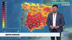 El tiempo en Andalucía- 10/7/2019