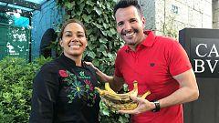 Aquí la tierra - Cocinamos con María Marte: plátano, ingrediente de aquí y de allá