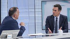 Los desayunos de TVE - Pedro Sánchez, presidente del Gobierno en funciones