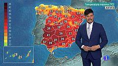El Tiempo en Extremadura - 11/07/19