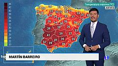 El tiempo en Andalucía - 11/7/2019