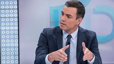 Los titulares de la entrevista a Sánchez en TVE: de las discrepancias con Unidas Podemos a la reforma constitucional