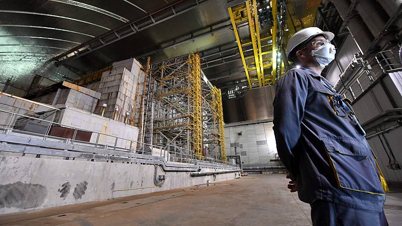 La misión de transformar Chernóbil en icono de la 'marca Ucrania'