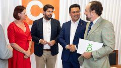 Vox renuncia a cualquier cargo en el futuro Gobierno de Murcia