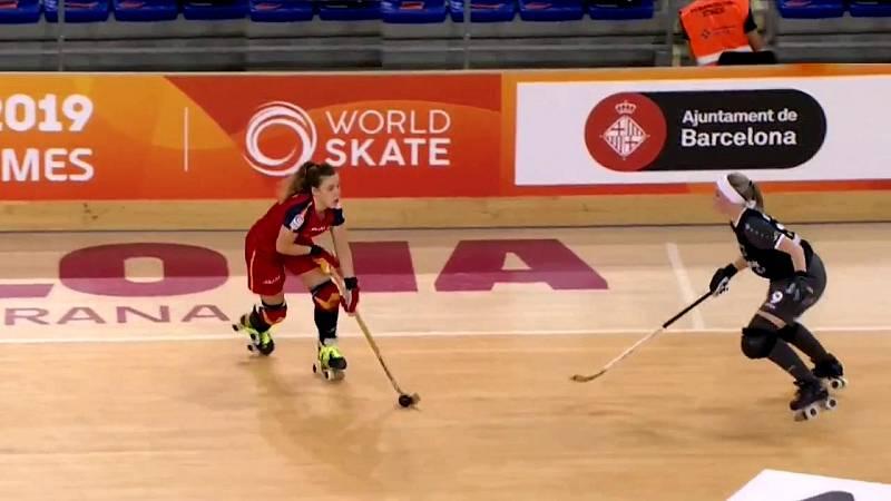 Hockey sobre patines - World Roller Games: 1/4 Final femenino - ver ahora