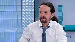 """Entrevista íntegra en TVE: Iglesias no aceptará ministros de perfil """"técnico"""" e insiste: """"Debe haber negociación para un gobierno de coalición"""""""