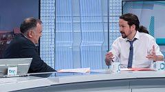 """Iglesias: """"Todos queremos gobernar. Hay cuatro millones de ciudadanos que merecen respeto"""""""