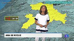 El Tiempo en Extremadura - 12/07/19