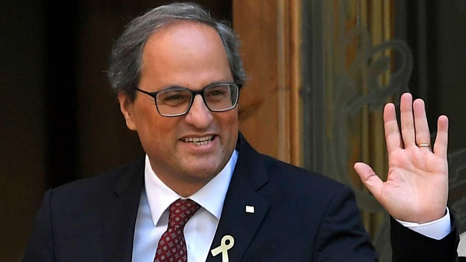 El TSJC sienta a Torra en el banquillo por desobediencia por no retirar los lazos amarillos de los edificios de la Generalitat