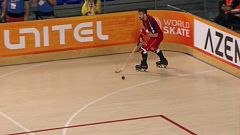Hockey sobre patines - World Roller Games. Semifinal masculina: España - Portugal