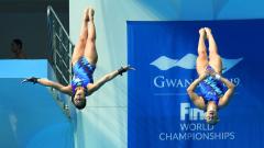 Mundial de Natación de Gwangju - Saltos: 10Mts. sincronizados femeninos Final
