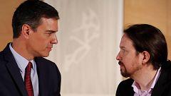 """Sánchez acusa a Iglesias de """"romper"""" las negociaciones tras promover una """"consulta trucada"""""""