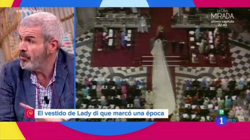 Lorenzo Caprile opina sobre el traje de novia de Diana de Gales