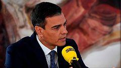 """Sánchez acusa a Iglesias de romper la negociación con una """"consulta trucada"""""""