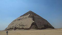 Egipto reabre la pirámide acodada de Dashur tras 50 años de clausura