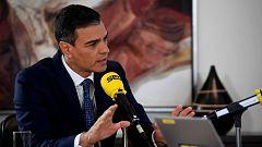 """Sánchez acusa a Iglesias de """"romper"""" las negociaciones al convocar una """"consulta trucada"""""""