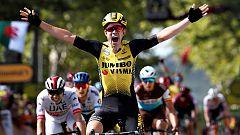 Tour 2019: Van Aert se estrena en el Tour y Alaphilippe mantiene el amarillo