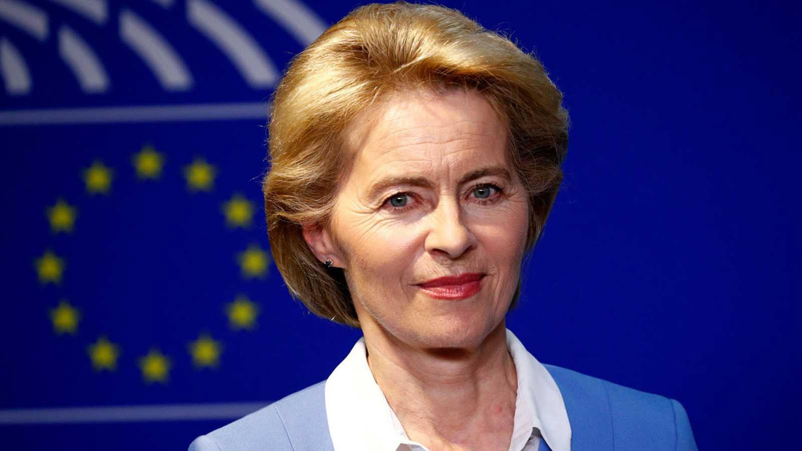 Resultado de imagen de presidenta comision europea