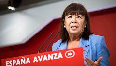 """Cristina Narbona (PSOE): """"Los votantes de Podemos deberían saber que se ha ofrecido miembros del partido en el Gobierno"""""""
