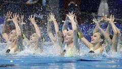 Mundial de Natación de Gwangju - Natación artística: Final técnica por Equipos