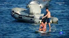Corazón - Aitana y Miguel Bernardau no esconden su amor en Ibiza