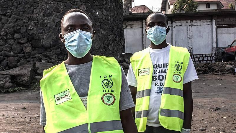 El ébola sigue extendiéndose por República Democrática del Congo y deja un primer fallecido en la ciudad de Goma