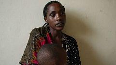 """Zebanesh, desplazada en Gedeo: """"Estamos sufriendo porque no tenemos comida"""""""