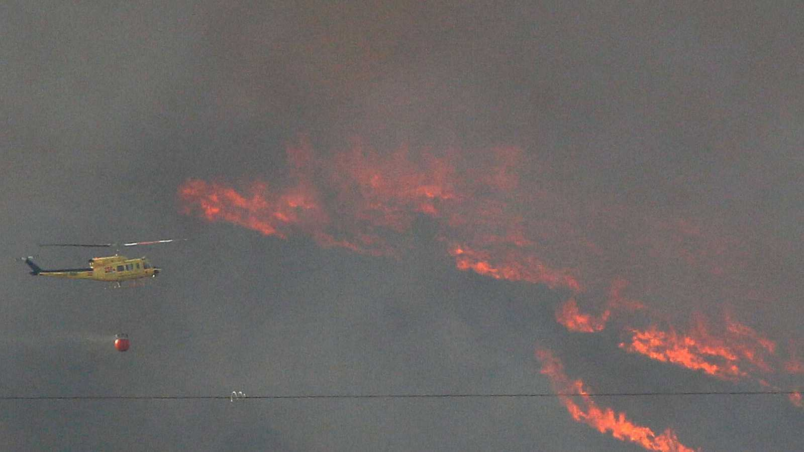 Estabilizado el incendio de Beneixama, Alicante tras quemar 900 hectáreas de masa forestal y cultivo de olivos
