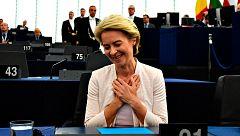 """Von der Leyen, nueva presidenta de la Comisión Europea: """"Es una gran responsabilidad  y mi trabajo empieza ahora"""""""