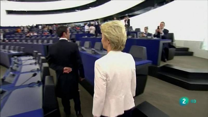 Von der Leyen, primera mujer que preside la Comisión Europea